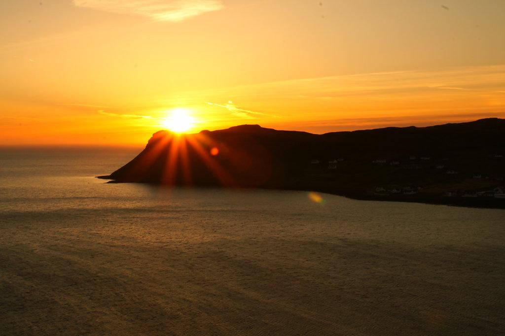 A scotch sunset